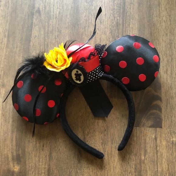 Minnie Mouse Vintage Inspired Headband